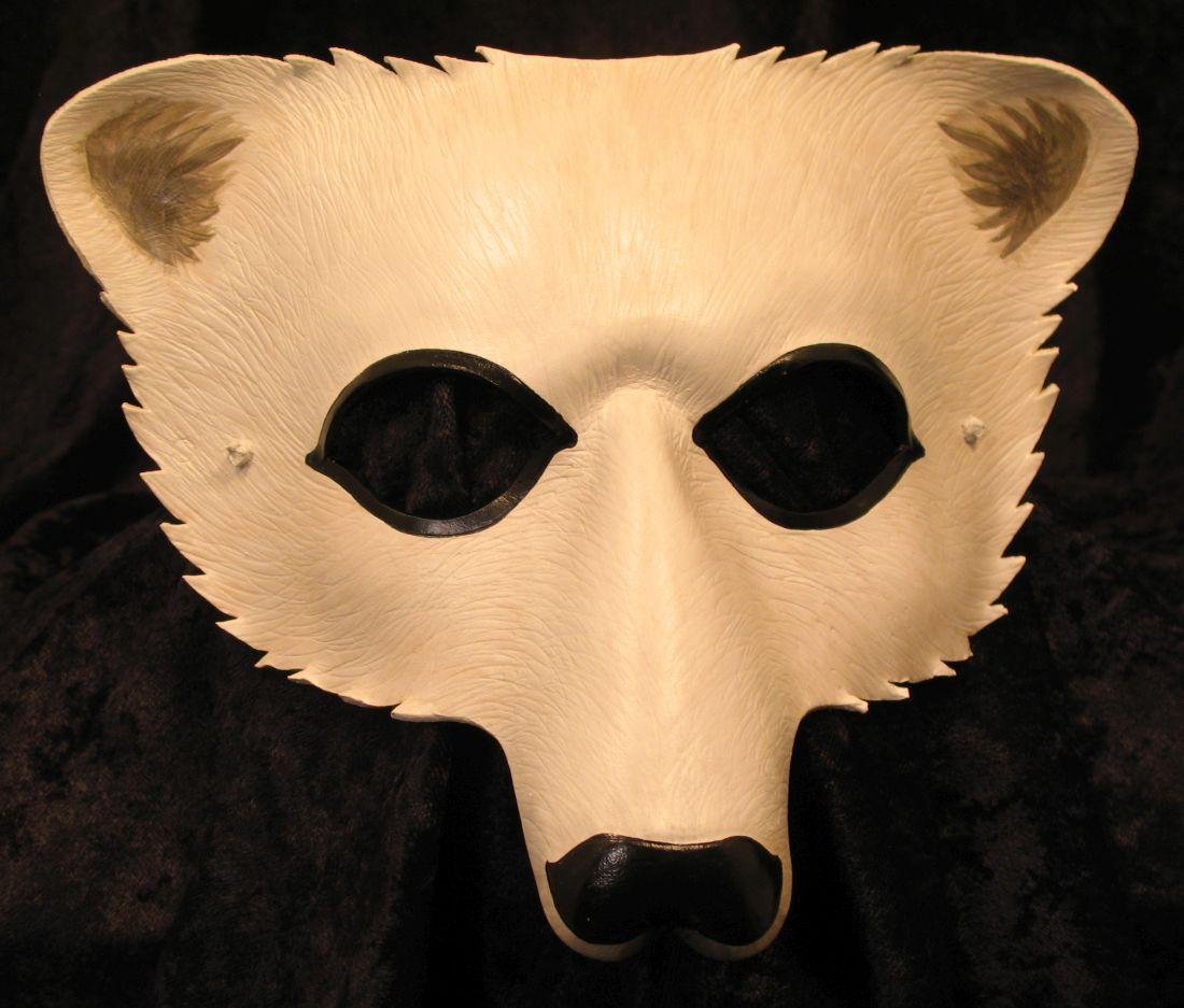 Tiger Torre Art Beastiary Masker Polar Bear 120